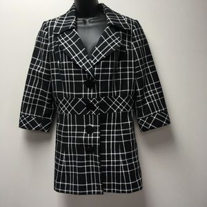 White House black market trench coat jacket 8.